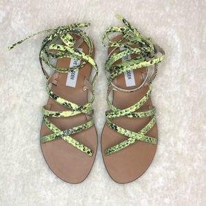 Steve Madden 'Carmen' Strappy Ankle Wrap Sandal